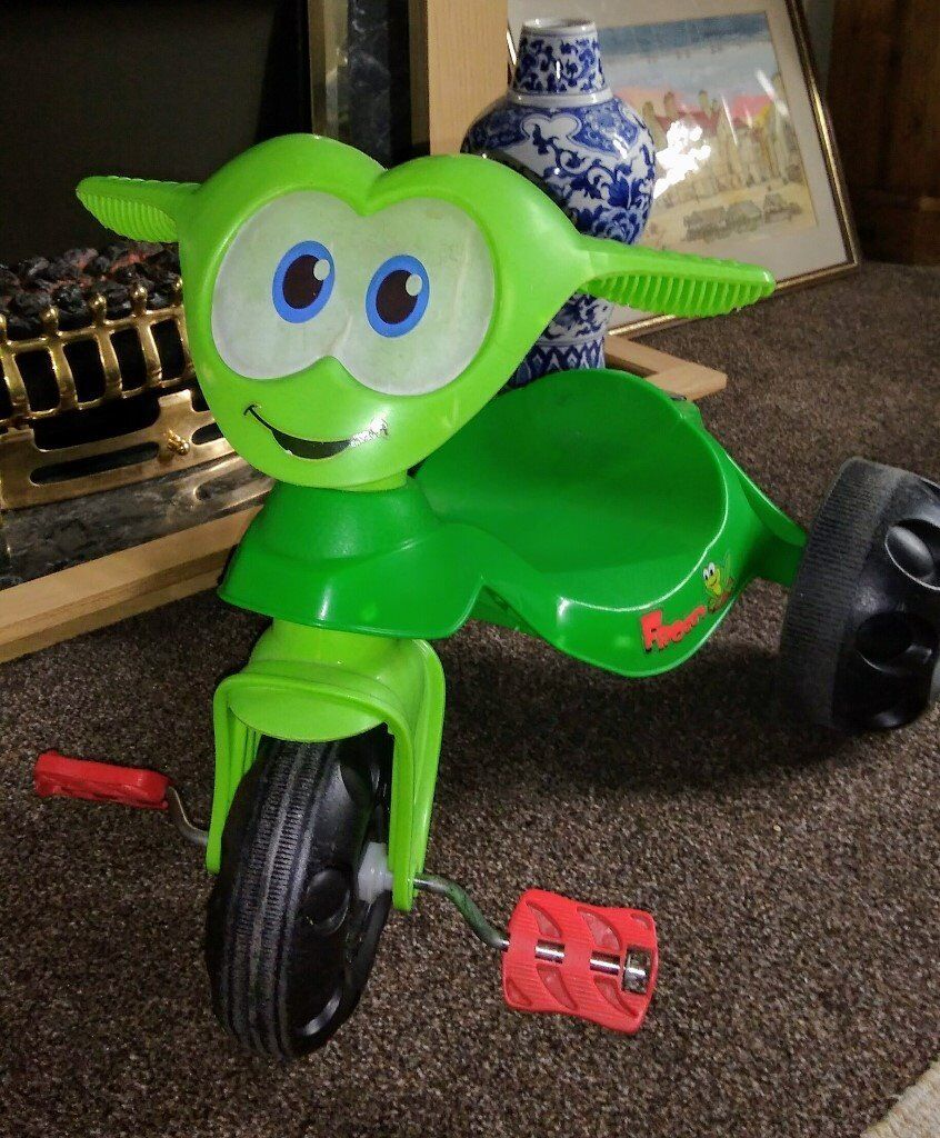 Green Frog Tricycle