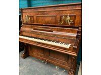 Schiedmayer upright piano |rebuilt| walnut cased | Free delivery |