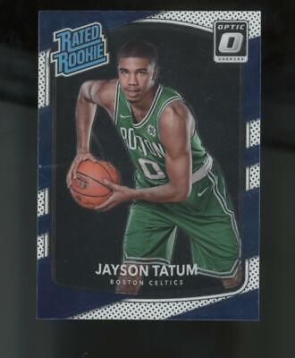 2017 Panini Donruss Optic #198 Jayson Tatum RC Rookie