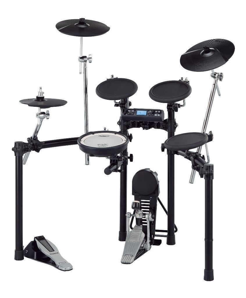 Roland V Drums Td 4k Electronic Drum Kit With Bass Drum Pedal