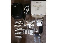 Dji Phantm 3 Professional 4k drone with lots of extras!!