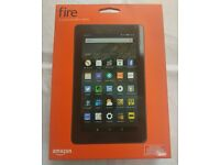 "AMAZON KINDLE FIRE 7"" TABLET BRAND NEW SEALED WITH WARRANTY AND RECEIPT"