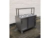 Custom hot cupboard Bain Marie, Excellent Condition