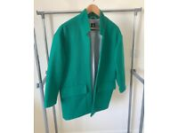 oversize coat, 38, used , great condition, unusual colour