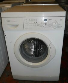 Bosch Classixx Washing Machine 1200 spin 7kg load New Bearings Door Seal AA rated Fully serviced £95