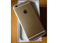 iPhone 6s Plus gold 32GB 11 days old perfect condition