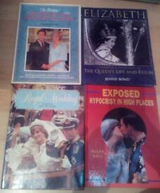 31 x Royal family books and magazines