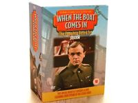 WHEN THE BOAT COMES IN - COMPLETE BOXED SET - EVERY EPISODE ON 24 DVDs