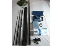 Brand New! Complete Coarse Fishing Gear: Rod, Net, Real, Tackle Box Etc.