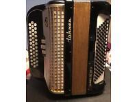 Hohner Gaelic IVS 3 Row Button Key Accordion
