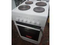 Currys Essentials CFSE10WH ELECTRIC COOKER, 50cm width