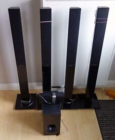 Samsung Surround sound speakers (6 piece)