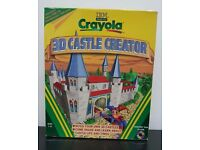 Crayola 3D Castle Creator CD-ROM New in Box