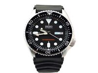 NEW Seiko Automatic Diver SKX007 SKX007K1 SKX007K Rubber Band Gents Watch