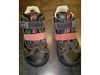Clarks stompo boys shoes