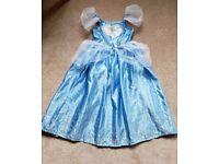 Disney Cinderella dress Age 7-8 Excellent condition