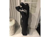 Golf Clubs plus covers and black carry case (bought in America)