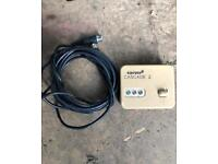 Carver cascade mk2 caravan/ camper water heater control switch and lead