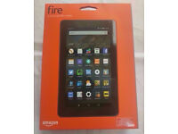 AMAZON KINDLE FIRE 7 INCH TABLET BRAND NEW SEALED WITH WARRANTY AND RECEIPT