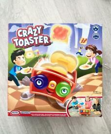 Crazy toaster game