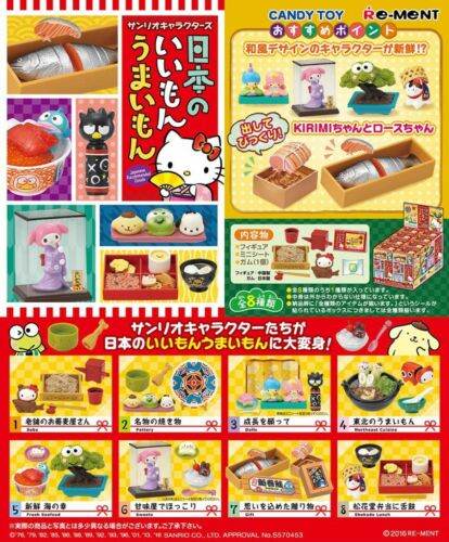 Re-Ment Miniature Sanrio Hello Kitty Japanese Recommended Goods Full set Rement