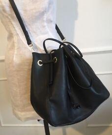 ZARA black hand bag £25 brand new