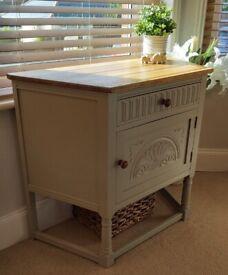 Vintage Oak Cabinet Cupboard