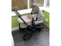 Mothercare Xpedior Tusk Travel System - Pushchair/Pram/Car seat