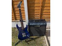 Guitar & line 6 amp