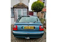 Rover 45 1.4L Low mileage, perfect condition, only 2 owners