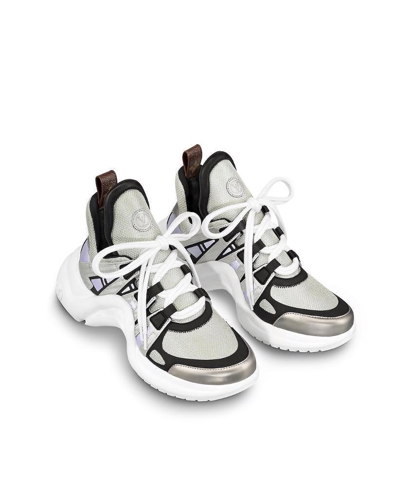 dc37e44b9 Authentic Lois Vuitton Archlight Sneakers silver, Size 39. NEW/BOX ...
