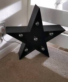 Star light from BHS