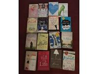 17 Fiction books - a good holiday read