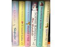6 Sophie Kinsella hardback books