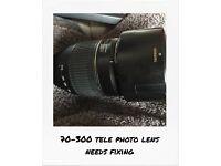 Nikon D40 plus accessories