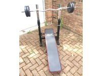 T & P ACCESORIES WEIGHT BENCH