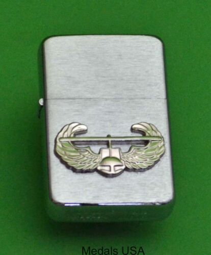 AIR ASSAULT BADGE ARMY WIND PROOF PREMIUM LIGHTER IN A GIFT BOX SBC023