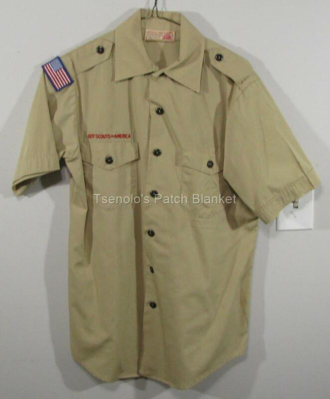 Boy Scout now Scouts BSA Uniform Shirt Size Adult Small SS FREE SHIPPING 028