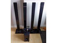 Samsung Surround sound speakers (6 piece)