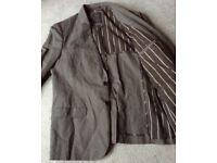 ALL SAINTS *BALLAST* Deconstructed Blazer Jacket XL 42