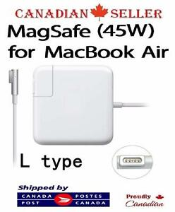 45W L Type Magsafe Power Adapter Macbook Air A1244 A1374 A1304 A1369 A1370 A1377 (BEFORE 2012 MODEL)  FOR ONLY $34.99