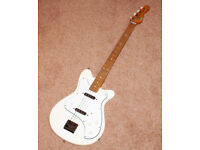 Collecatble Vintage 1963 Vox Clubman ll Bass Guitar in White