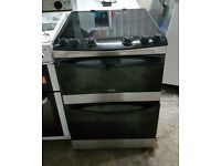 6 MONTHS WARRANTY, AA ENERGY RATED Zanussi 60cm, double oven electric cooker FREE DELIVERY