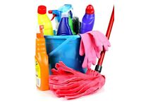 Cleaning services (domestic, commercial, etc.) experienced and friendly cleaners