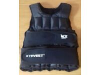 ***GYM, WEIGHTED VEST (20KG), PERFECT PUSH UP V2, PUSH UP BARS, TRAINING GLOVES & STRAPS-BUNDLE,***