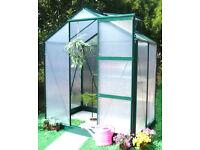 Ascot Aluminium Greenhouse - 6 x 4 Ft