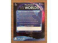 PlayStation 4 VR Worlds Game (PSVR)