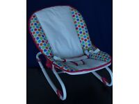 Adjustable Baby Bouncer by Chad Valley - as new