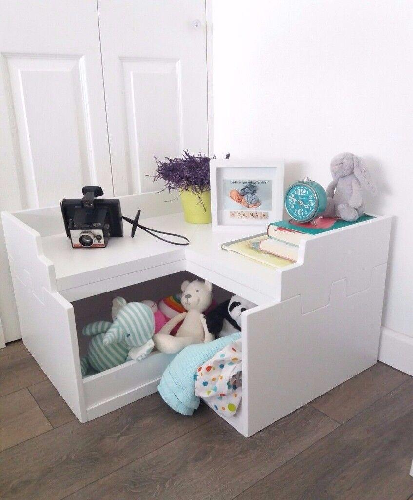 Corner Toy Box / Nursery Kids Room Storage   BRAND NEW RRP155
