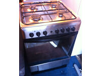 gas cooker oven hob Indesit